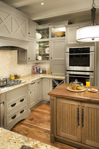 Kitch cabinetry design Kitchen design mixed cabinets